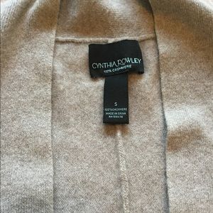 Gorgeous neutral colored cashmere cardigan
